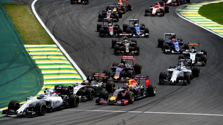 2015 Brazilian Grand Prix Start