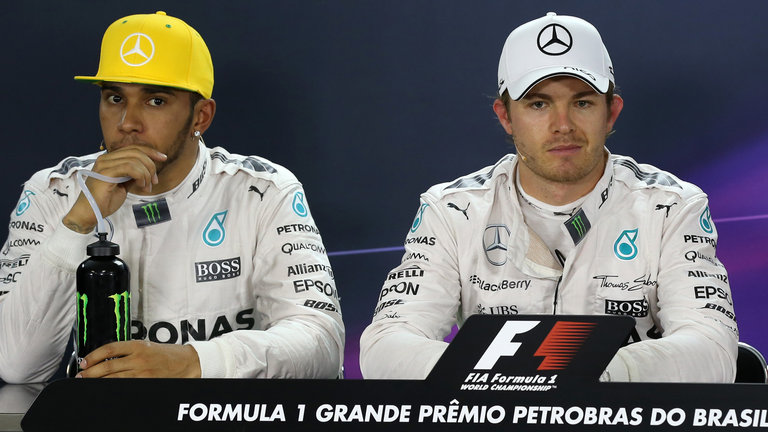 Lewis Hamilton Nico Rosberg F1