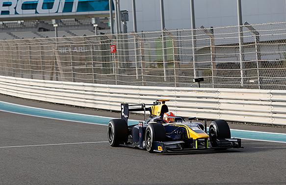 Alex Lynn F1 Motorsport GP2