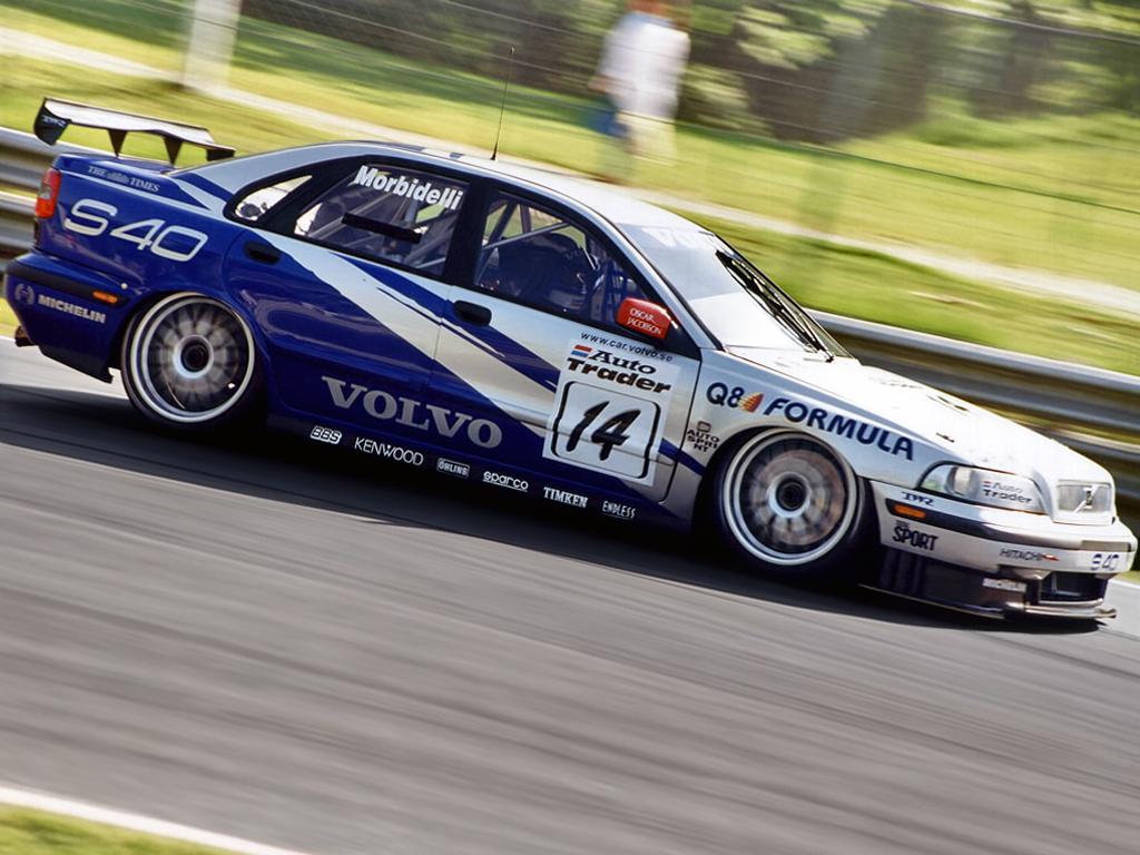 Btcc History Volvo S40 Thehairpincorner Com Motorsport Discussed
