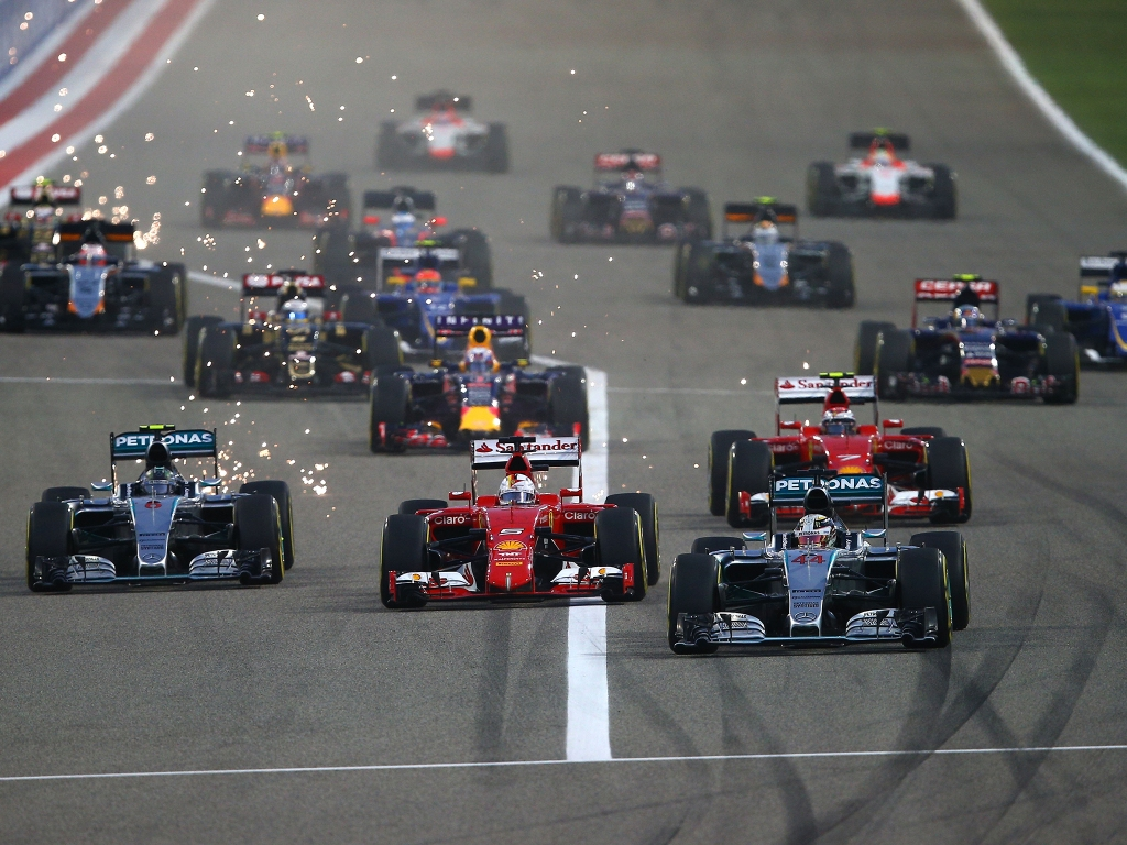 F1 blog, motorsport blog, 2015 bahrain grand prix start, alex dodds motorsport