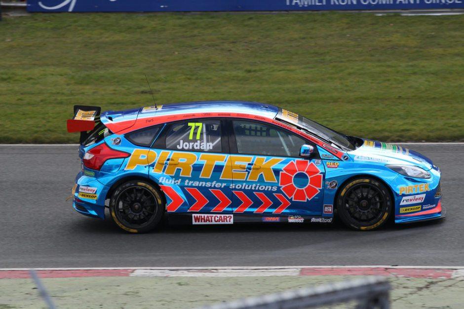 btcc blog, andrew jordan 2016, motorsport blog, pirtek racing
