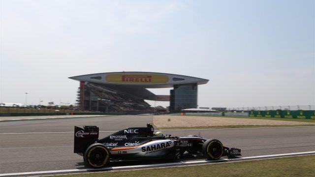 force india f1 china, motorsport blog, alex dodds motorsport, f1 blog