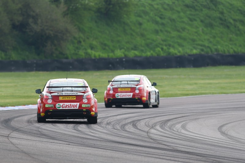 motorsport blog, mg btcc, btcc thruxton, btcc blog, alex dodds motorsport
