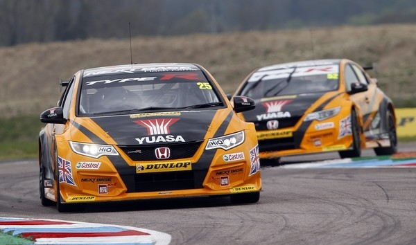 btcc thruxton, btcc blog, motorsport blog, honda btcc, alex dodds motorsport