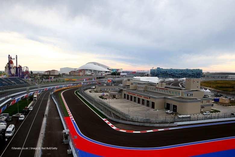 Russian GP, sochi autodrom, f1 blog, motorsport blog, alex dodds motorsport