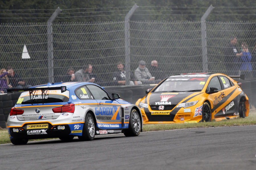 collard neal clash, btcc croft, motorsport blog, btcc blog