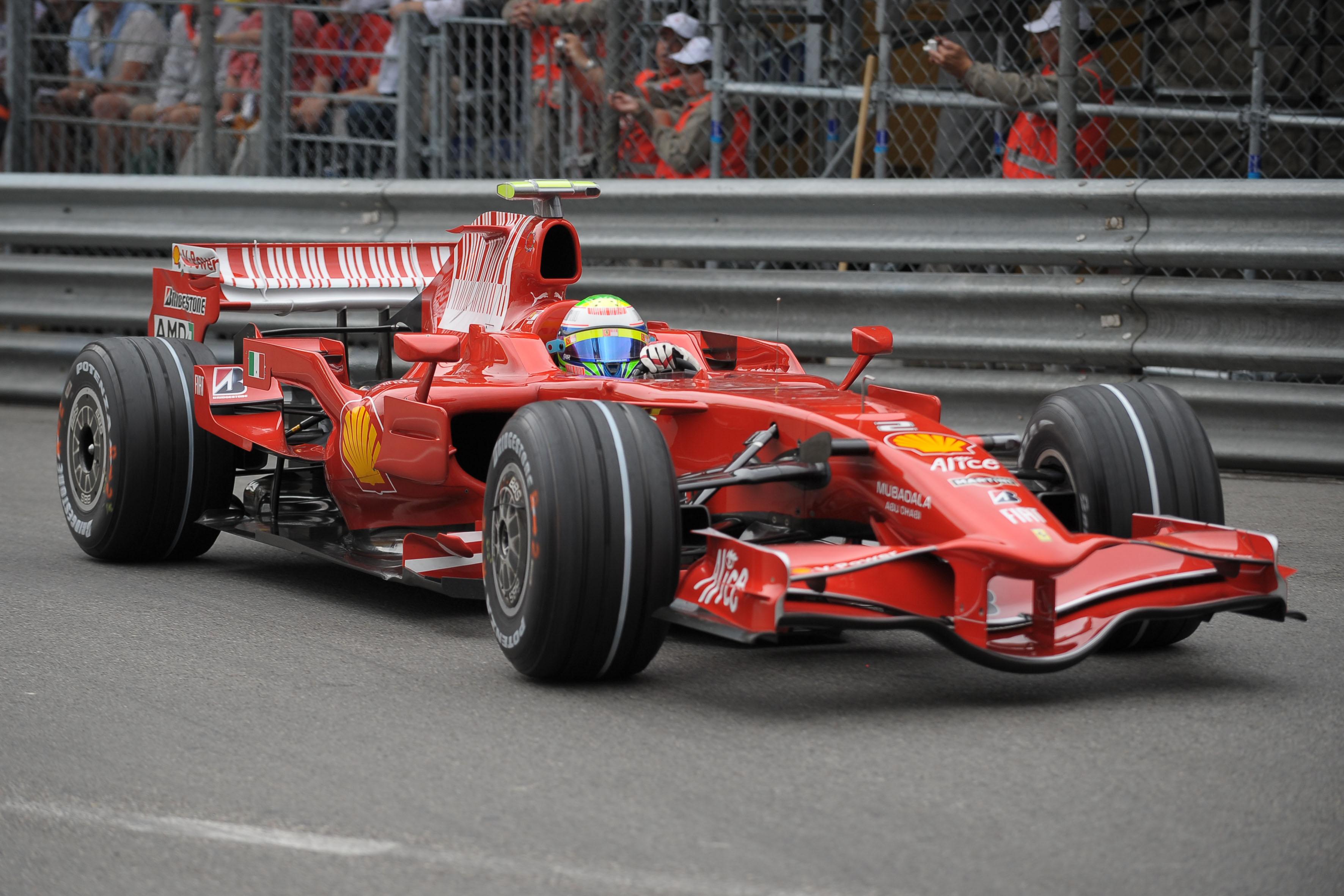 2008 ferrari f1 car