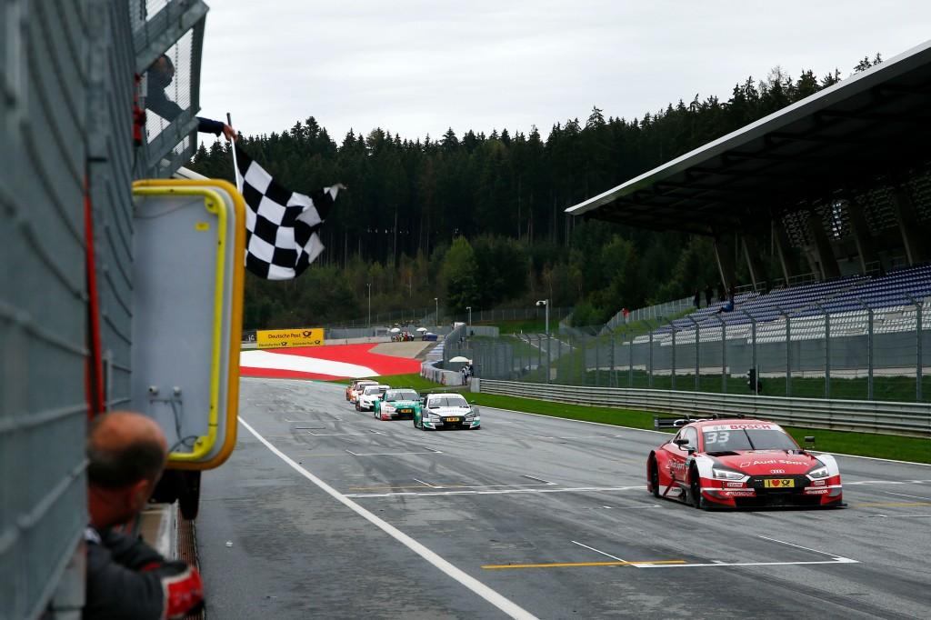 dtm blog, rene rast wins in austria, thehairpincorner, motorsport blog