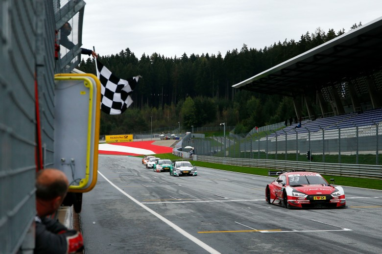dtm blog, rene rast wins in austria, thehairpincorner, motorsport blog