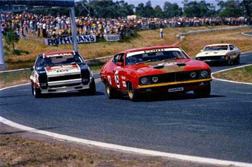 moffat ford falcon gt, motorsport blog, supercars blog, vasc, the hairpincorner