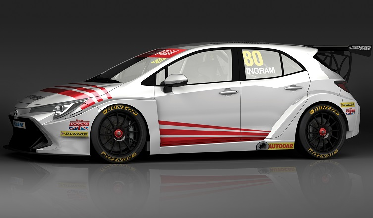 2019 Toyota BTCC, thehairpincorner,