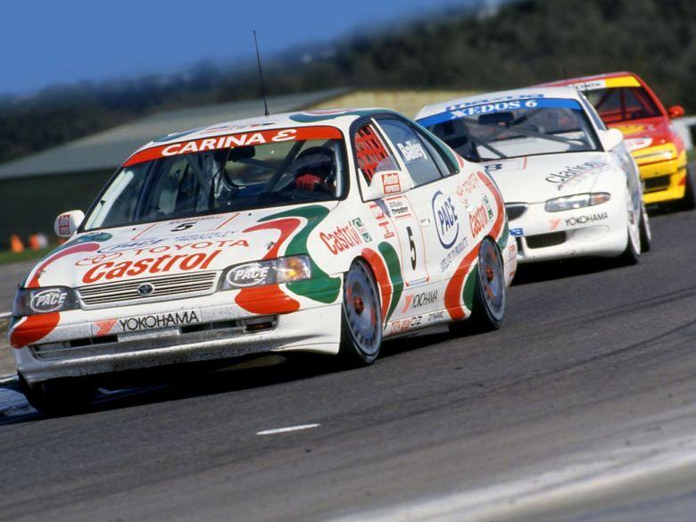 thehairpincorner, Tim Bailey 1994 BTCC Toyota, motorsport blog
