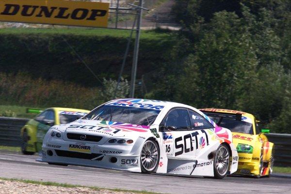 alain menu 2001 dtm, thehairpincorner, motorsport blog