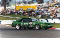 1985 DJR Ford Mustang GT Group A, ford mustang atcc, supercars history, thehairpincorner
