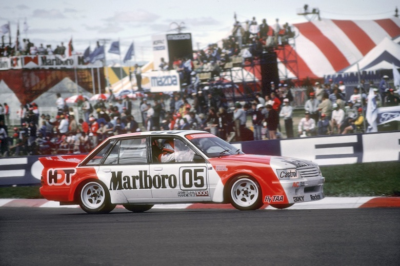 1984-Peter Brock Bathurst Commodore, thehairpincorner, motorsport blog, supercars blog