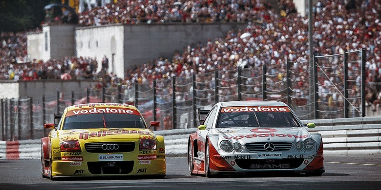 Audi TT DTM 2002, dtm history, motorsport blog, thehairpincorner
