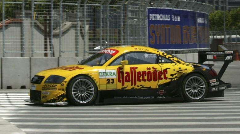 Audi TT DTM 2003, dtm history, dtm blog, motorsport blog, thehairpincorner