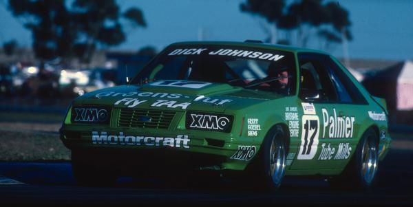 DJR Mustang 1986, supercars blog, atcc blog, thehairpincorner
