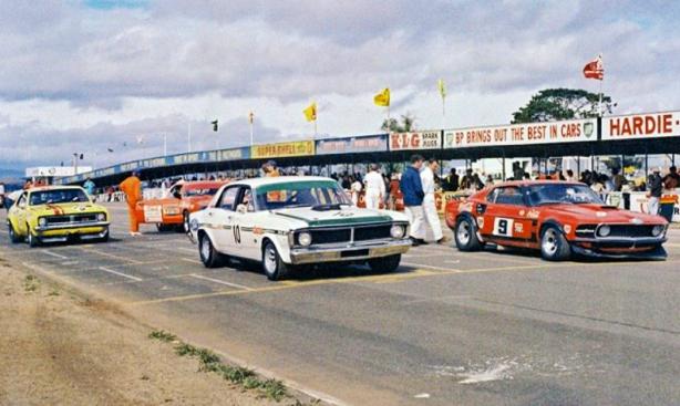Alan Moffat Mustang 1972, thehairpincorner, motorsport blog, supercars blog