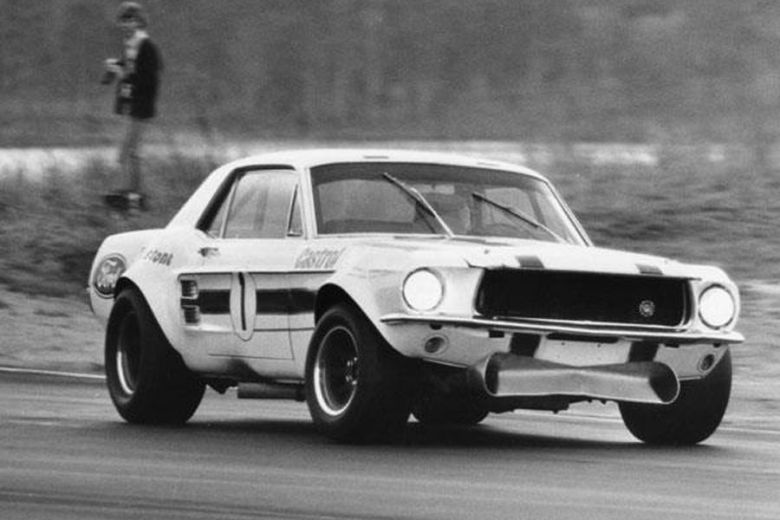 Geoghegan Ian Ford Mustang, Supercars History, thehairpincorner